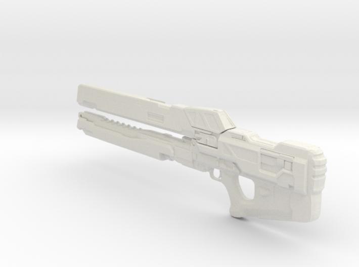1/3rd Scale Halo Rail Gun 3d printed