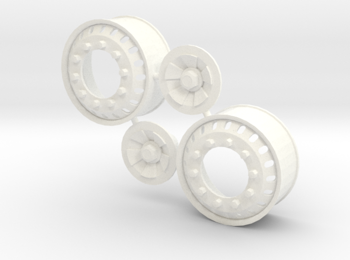 20 Hole Euro Front Rim 3d printed