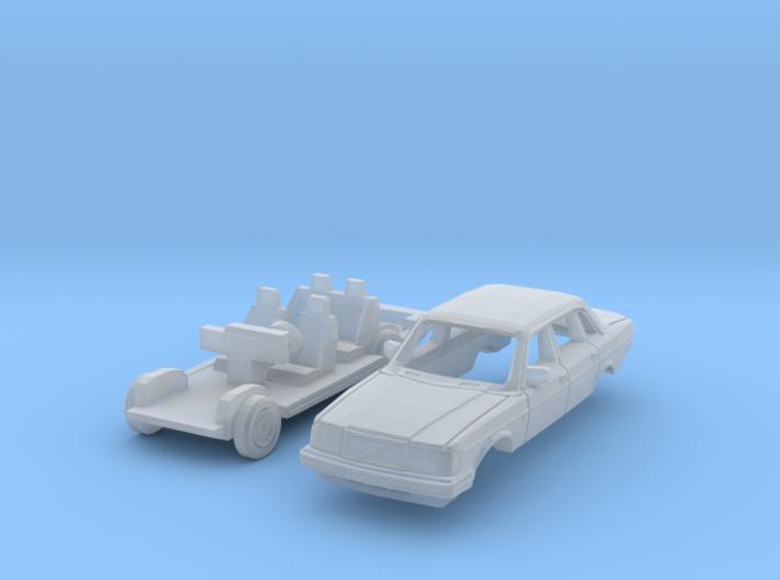 Volvo 240 Saloon (N 1:160) 3d printed