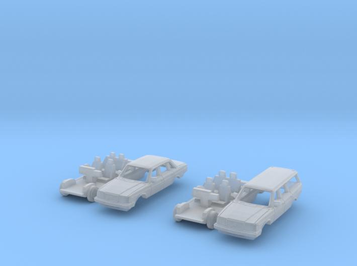 SET 2x Volvo 240 (British N 1:148) 3d printed