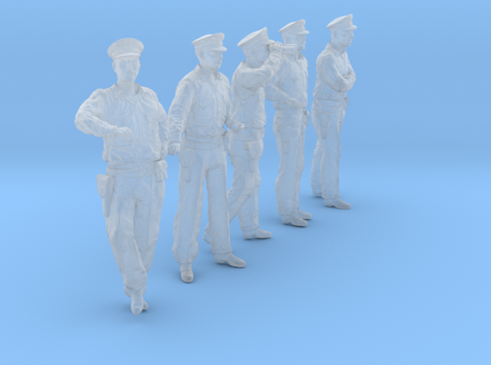1/56 USN Officers Set431-03 3d printed