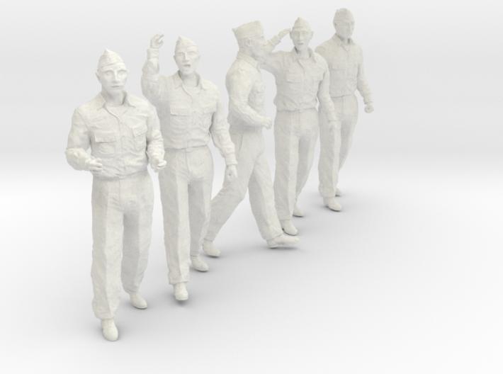 1/30 USN Officers Set436-02 3d printed
