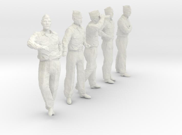 1/20 USN Officers Set435-03 3d printed