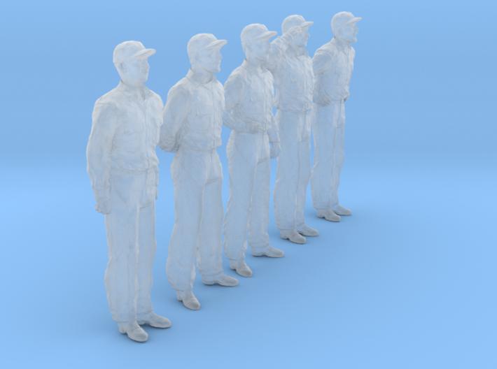 1/35 USN Officers Set437-01 3d printed