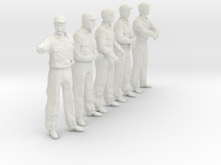 1/20 USN Officers Set437-02 3d printed