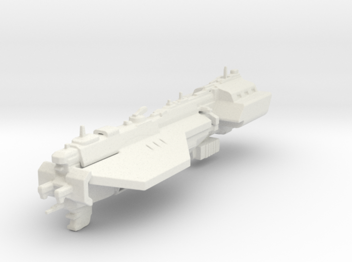 UNSC Assault carrier Defiant 3d printed