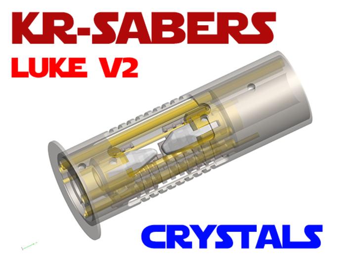 KR Luke V2 - CC Add-on - Crystals 3d printed