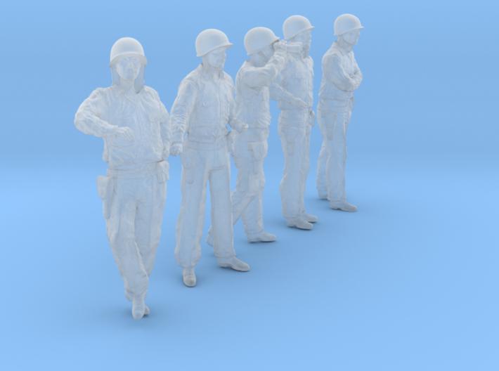 1/56 USN Officers Set423-03 3d printed