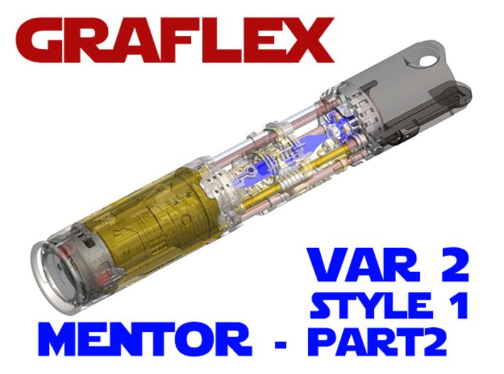 Graflex Mentor - Var2 Part02 - Switches Style1 3d printed