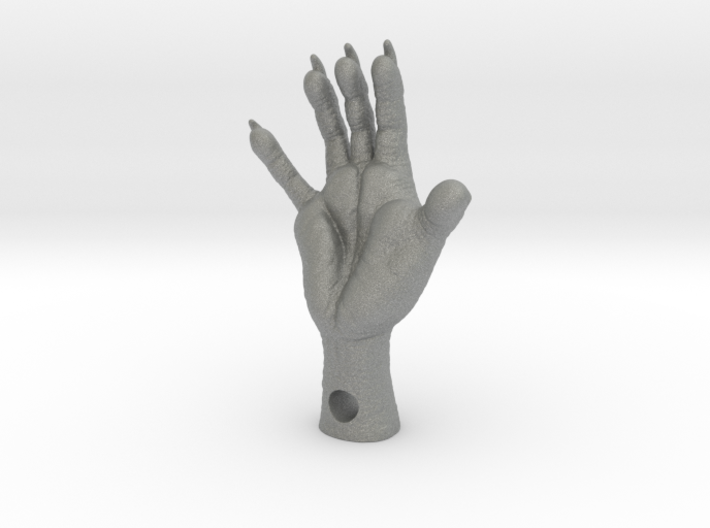 3 Inch_OPOSSUM Foot_with_Hole 3d printed
