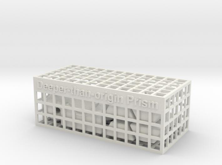 Deeper-than-origin Prism 3d printed