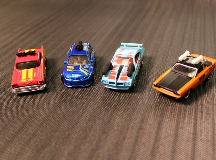 Car Weapons - Jada Scale - TURBO RALLY / OUTRIDER 3d printed