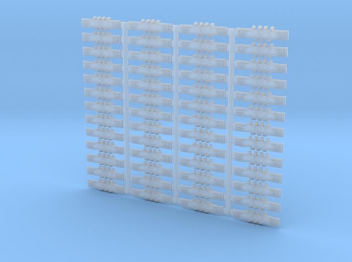 Crawler Track - 1-160 scale - Set of 52 - Flat Ori 3d printed