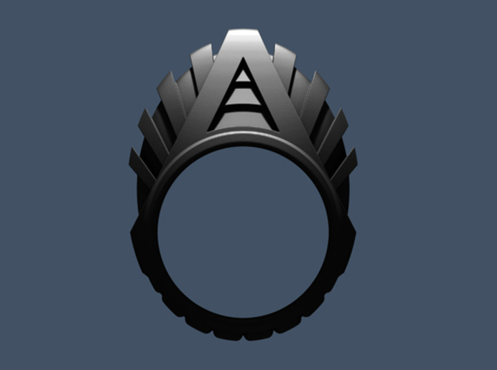 HyperDrive Ring - Size 12 (21.39 mm) 3d printed