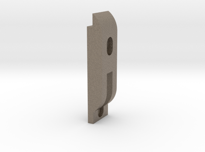 Axle Retainer Weight Revised 9-16-2016 3d printed