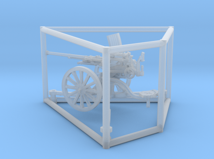 1/72 IJA Type 98 20mm anti-aircraft gun 3d printed