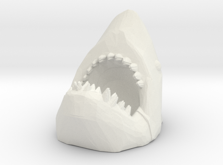HO Scale Shark Attack 3d printed This is a render not a picture