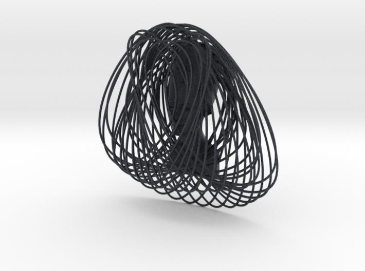 Enneper Curve Art + Nefertiti (002c) 3d printed