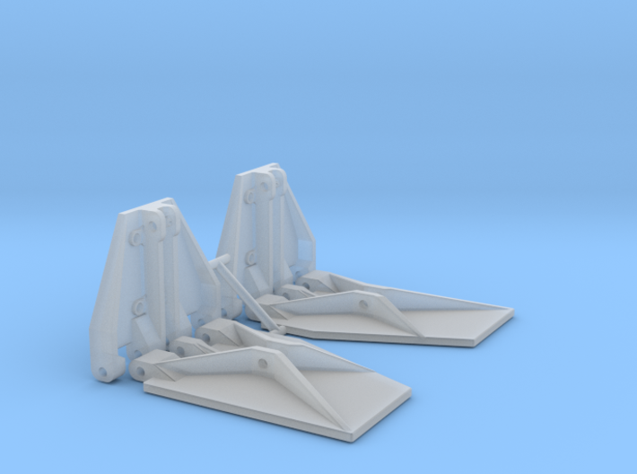K Plane Trim Tabs 3d printed