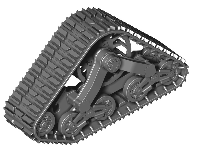 Track set for Wheeled Vehicles 3d printed