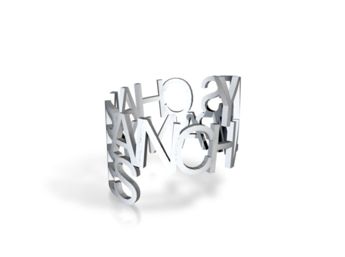 Ring Poemy 3d printed