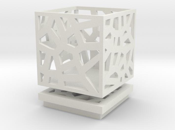 Square Small Jewelry Box 2x2x2 inches 3d printed