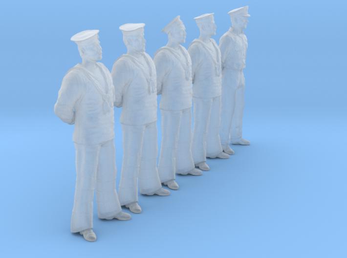 1/56 RN Seamen Rest Set101-14 3d printed