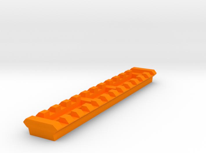Picatinny Rail for G3 T3 SAS Reinforced Handguard 3d printed