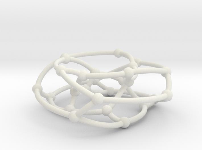 F26A graph on torus 3d printed