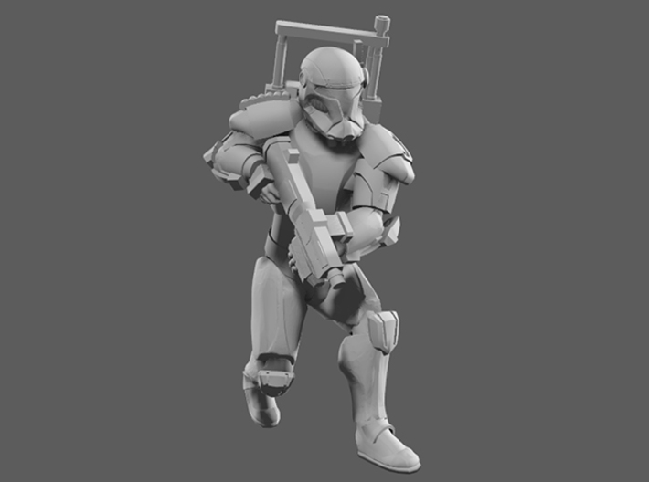Vanguard Trooper Comms 3d printed