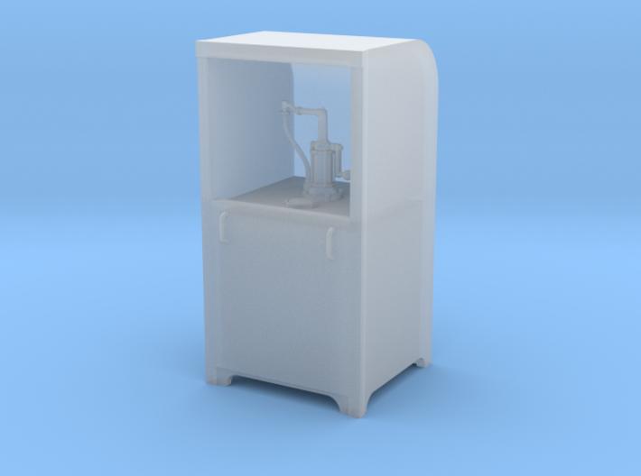 Garage Oil Dispenser Cabinet 1:24 Scale 3d printed