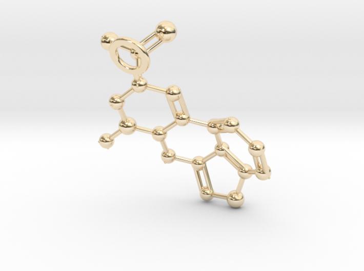 LSA molecule (Large) 3d printed