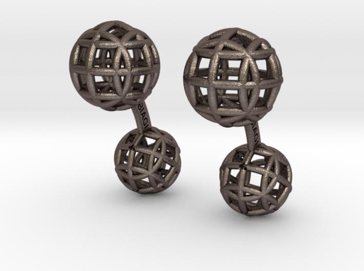 Circubo Cufflinks 3d printed