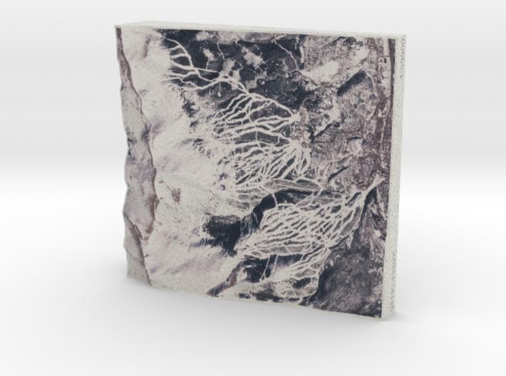 Breckenridge in Winter, Colorado, USA, 1:50000 3d printed