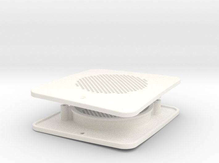 fpi002-01 Ford Pinto Runabout Rear Speaker Grill 3d printed