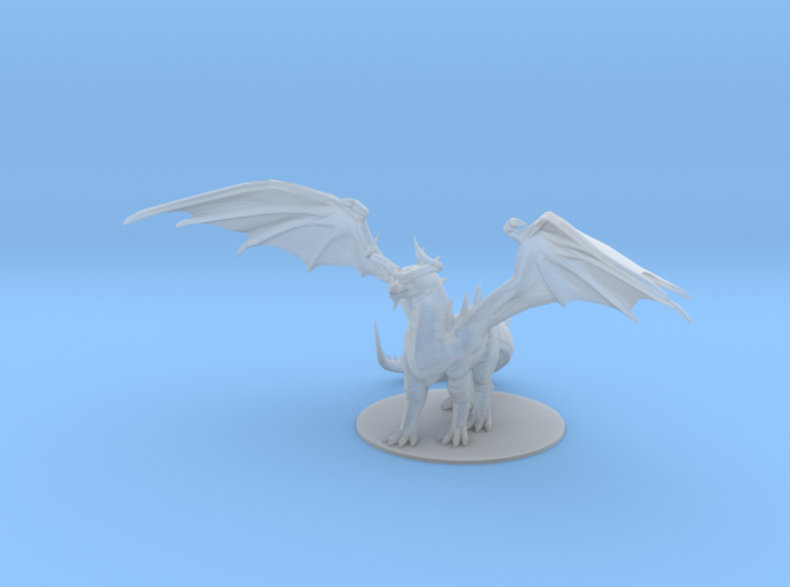 Dragon of Duality 3d printed