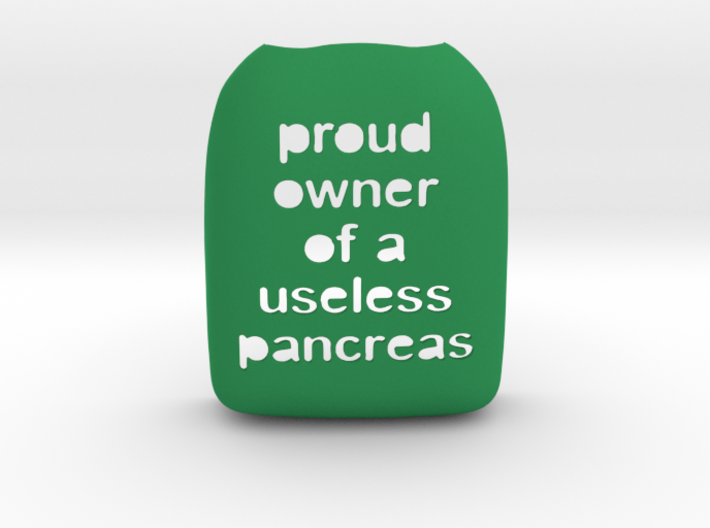 Proud Owner of a Useless Pancreas 3d printed