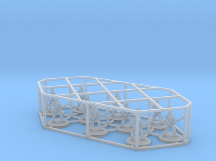 1:144 12mm WWII Wargame Allies & Axis game British 3d printed