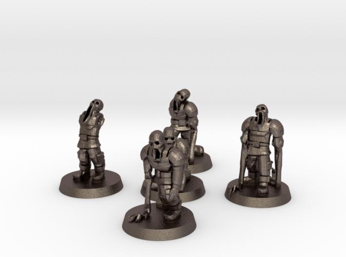 Guardsmen Thralls (28mm Scale Miniature) 3d printed