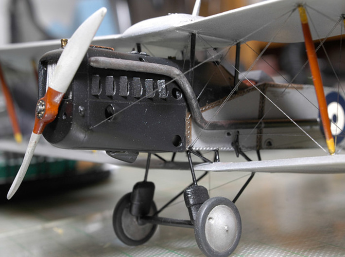 "1/48 Bristol Type 81A ""Greek Trainer"" 3d printed"