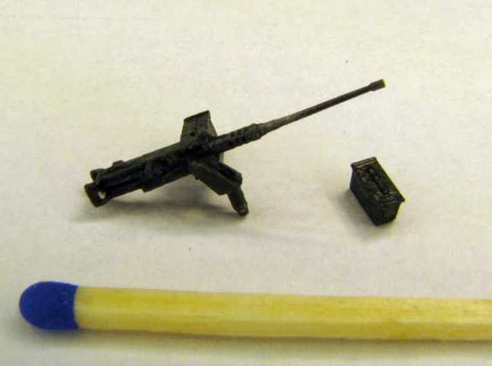 1:72 Weapons Collection (32 pcs.) 3d printed Pintle mounted M2HB (1x) with an ammo box (9x)