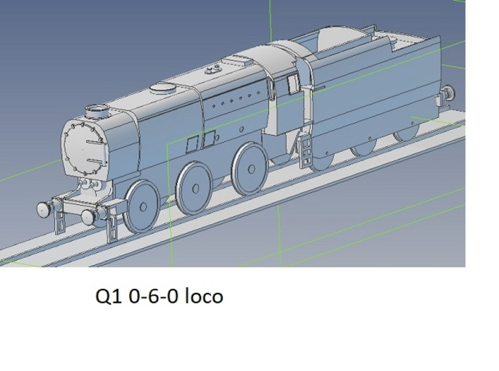 b-76-q1-loco-body 3d printed