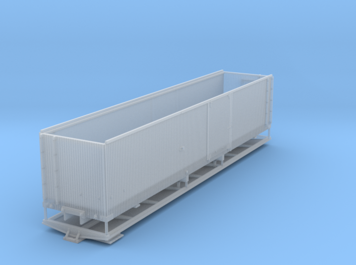 ET&WNC Box Car 36' HOn3 3d printed