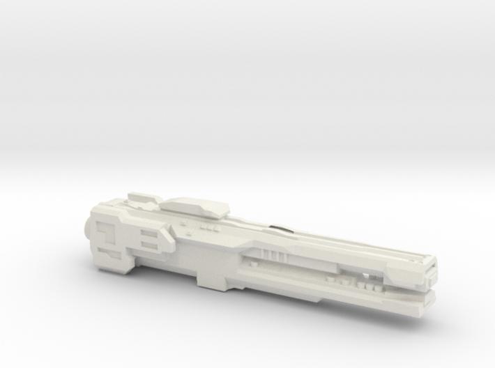 UNSC Strident Class Frigate 3d printed