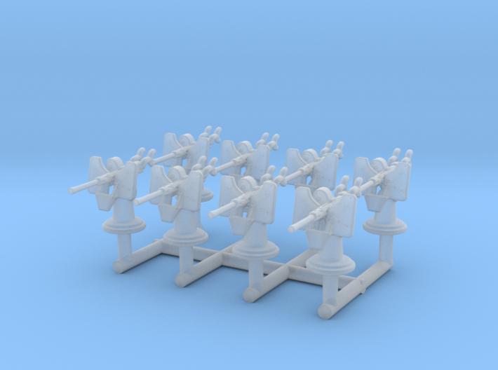 1/285 USN Oerlikon 20 mm Single Set x8 3d printed