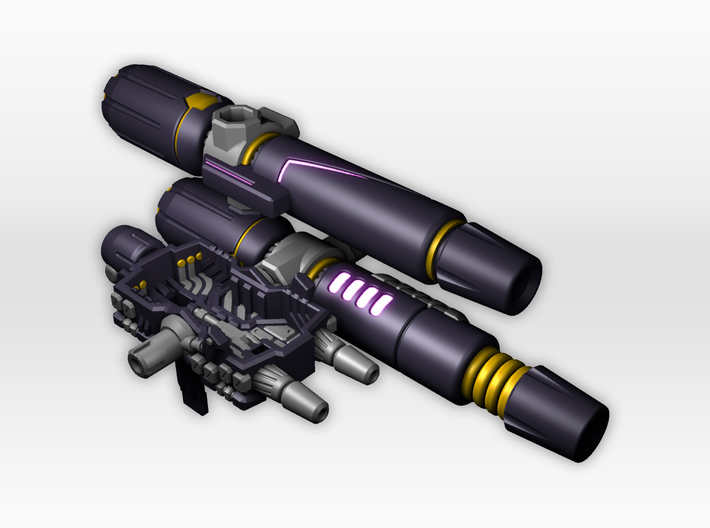 Titans Return Tarn Blasters and Fusion Cannons 3d printed