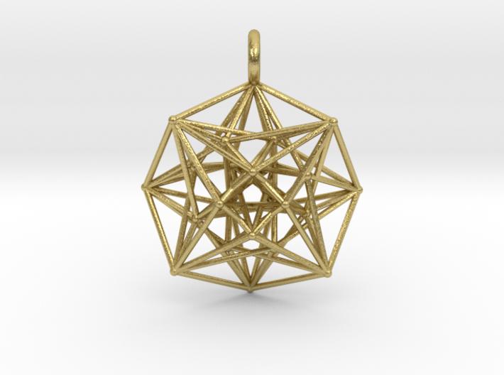 Metatron's Compass 35mm - 4D Vector Equilibrium 3d printed