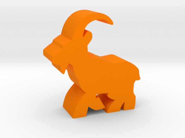 Game Piece, Ibex running 3d printed