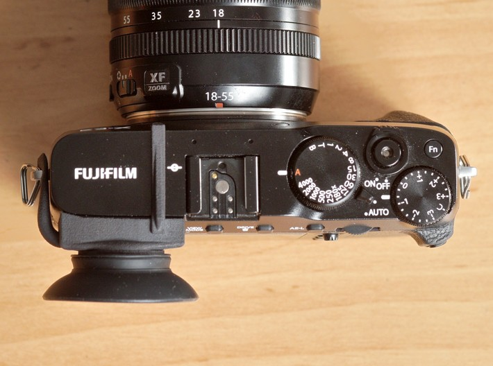 Eyecup adaper for Fuji X-E3 3d printed