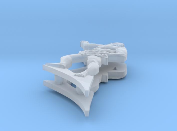 1:100 HMS Victory Stern Figurines 3d printed